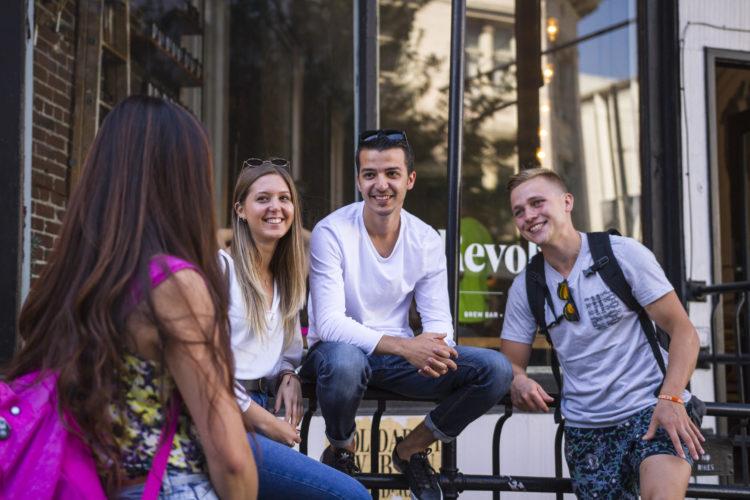ilsc vancouver students 28532433621 o - よく分かる!観光ビザでカナダ留学する方法とeTA申請マニュアル