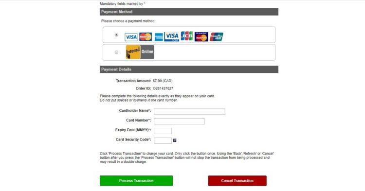 payment - よく分かる!観光ビザでカナダ留学する方法とeTA申請マニュアル
