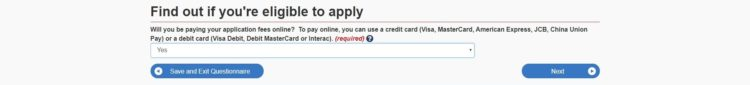 creditcard - カナダの学生ビザの取得方法を申請画面の和訳付きで徹底解説!