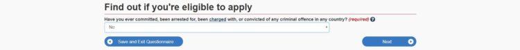 criminal - カナダの学生ビザの取得方法を申請画面の和訳付きで徹底解説!