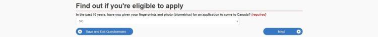 fingerprint - カナダの学生ビザの取得方法を申請画面の和訳付きで徹底解説!