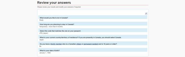 review - カナダの学生ビザの取得方法を申請画面の和訳付きで徹底解説!