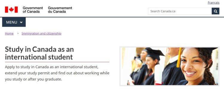 student visa - カナダの学生ビザの取得方法を申請画面の和訳付きで徹底解説!